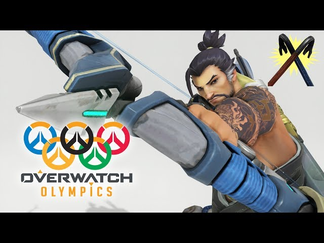Overwatch Olympics - Hanzo Archery