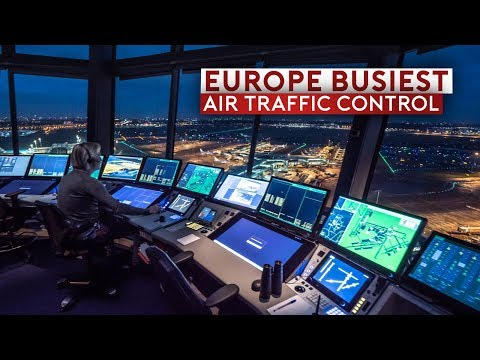 Inside Europe's Busiest Air Traffic Control - Amsterdam