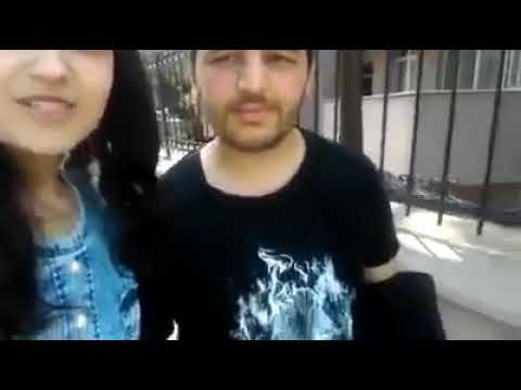 Youtuber Banu Ve Sevgilisi Mehmet. Vlog çeken Kız