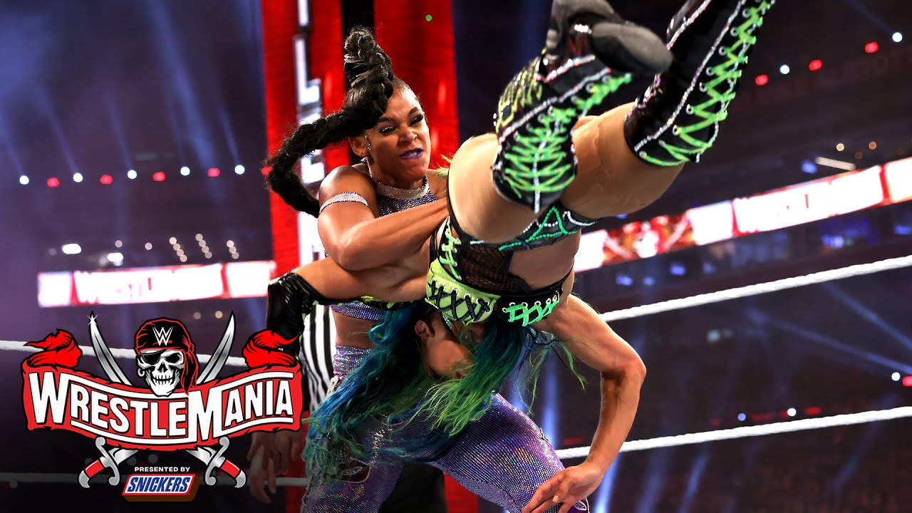 Bianca Belair closes in on WrestleMania gold: WrestleMania 37 – Night 1 (WWE Network Exclusive)