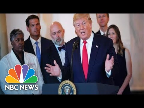 Watch Live: President Donald Trump Signs Executive Order On Health Care Transparency | NBC News