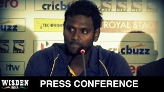 Sangakkara's retirement will be a great occasion | Angelo Mathews | Wisden India