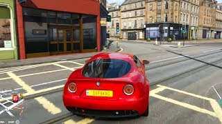Forza Horizon 4 - Alfa Romeo 8C Competizione 2007 - Open World Free Roam Gameplay (HD) [1080p60FPS]