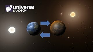 What If Earth And Promixa b Switched Locations, Universe Sandbox ²