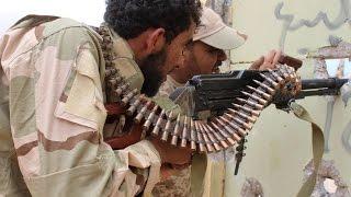 قوات البنيان المرصوص تحاصر داعش في سرت