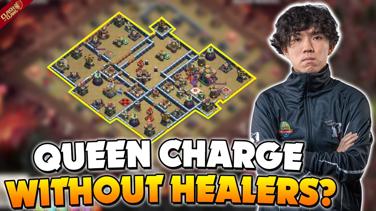 Klaus Queen Charged the WHOLE base with 0 healers