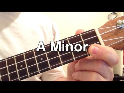 How to play A Minor chord on the ukulele!