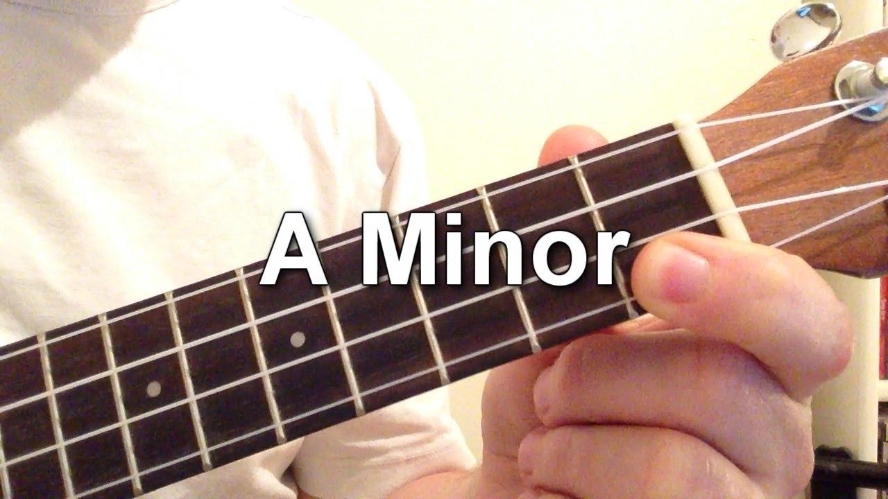 play  minor chord   ukulele youtube