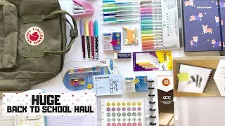 HUGE Back to School Stationery and Supplies Haul | Studychaii