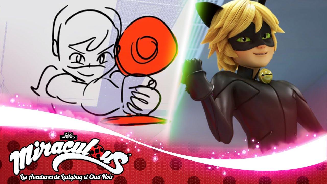 MIRACULOUS   🐞 SILENCE - Storyboard ✏️   SAISON 3   Les aventures de Ladybug et Chat Noir