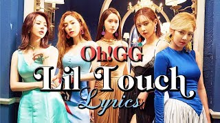 Girls' Generation-Oh!GG - Lil Touch Lyrics (Han/Rom/Eng)