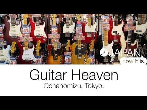 Guitar Heaven - Ochanomizu, Tokyo | Japan How It Is