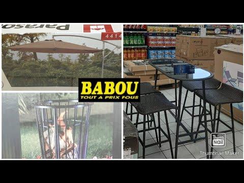 Babou Bm Espace Terrasse Jardin Balcon Exterieur Vendredi 28 Mai 2020 Youtube