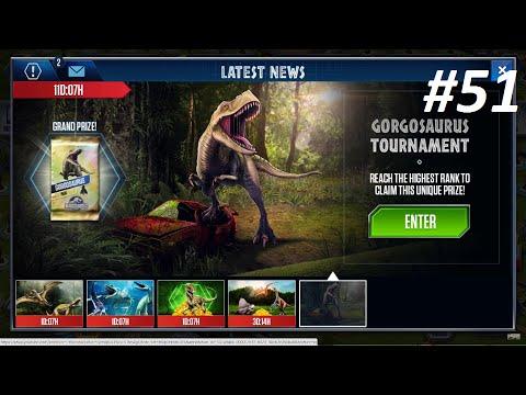 Jurassic World Gorgosaurus Tournament Dominator League, Green and Gold pack - Ep51