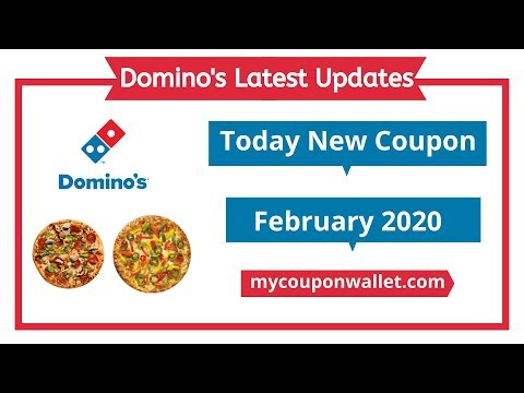 Domino's Coupon Code 2020 | Latest Pizza Coupons | Latest Domino's Offers | Domino's Update
