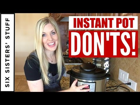 9 Instant Pot DON'TS! Tip Tuesday