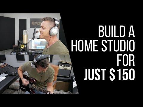 How To Build A Home Studio For Under $150 – RecordingRevolution.com