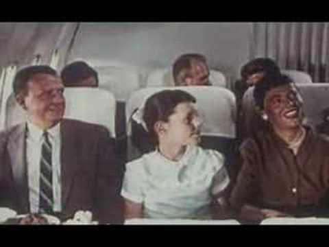 Pan Am introduction to jet service