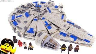 Baixar LEGO Star Wars Kessel Run Millennium Falcon review! 75212