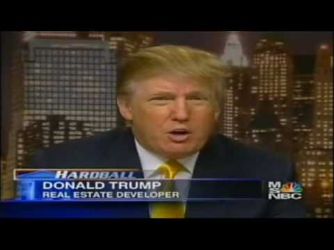 Donald Trump Calls Freedom Tower Disgusting - MSNBC NEWS