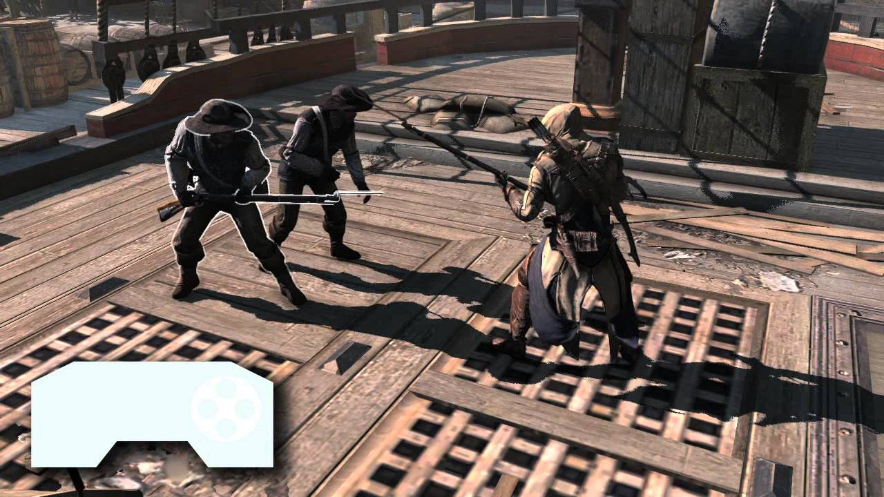 Assassin S Creed 3 Gameplay Tutorials Combat Uk Youtube