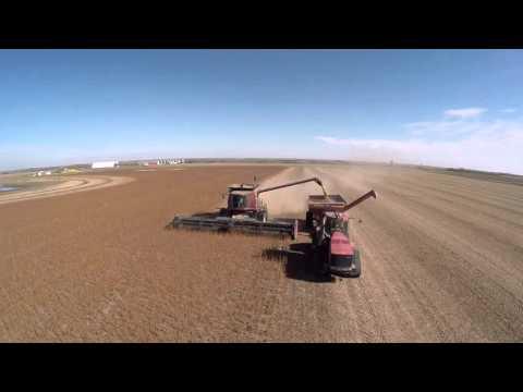 2015 Saskatchewan Harvest - Drone Footage Saskatchewan