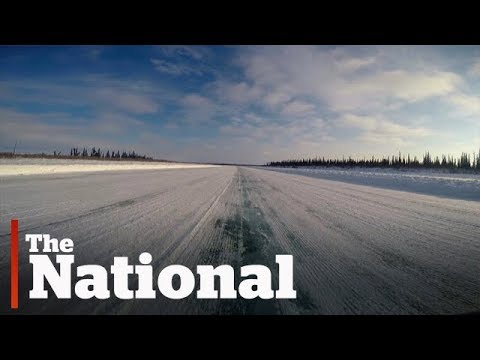 New Arctic coast highway connects Tuktoyaktuk to the rest of Canada