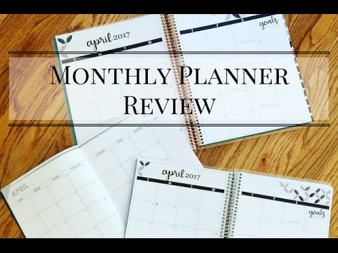 Erin Condren Monthly Planner & Deluxe Monthly Planner Review by JenPlans