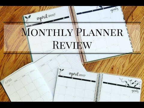Erin Condren Monthly Planner & Deluxe Monthly Planner Review by JenPlans