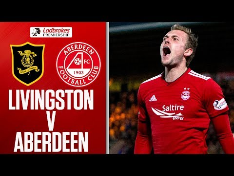 Livingston 1-2 Aberdeen | Lithgow Late Own-Goal Seals Win | Ladbrokes Premiership