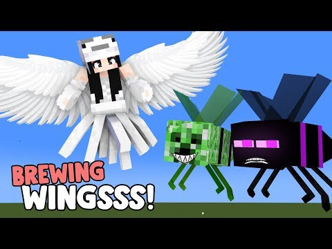 MONSTER SCHOOL : BREWING WINGS CHALLENGE- FUNNY MINECRAFT ANIMATION