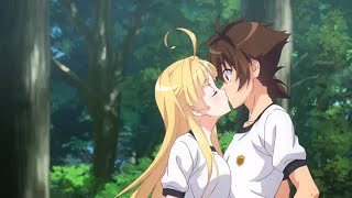 MY TOP 10 Best And Most Epic Romantic anime kiss scenes 5EVER HD2018