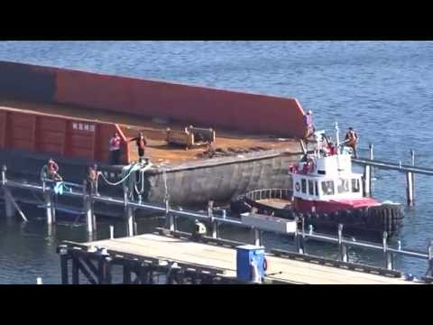 Point Hope Shipyard Barge Dry Docking