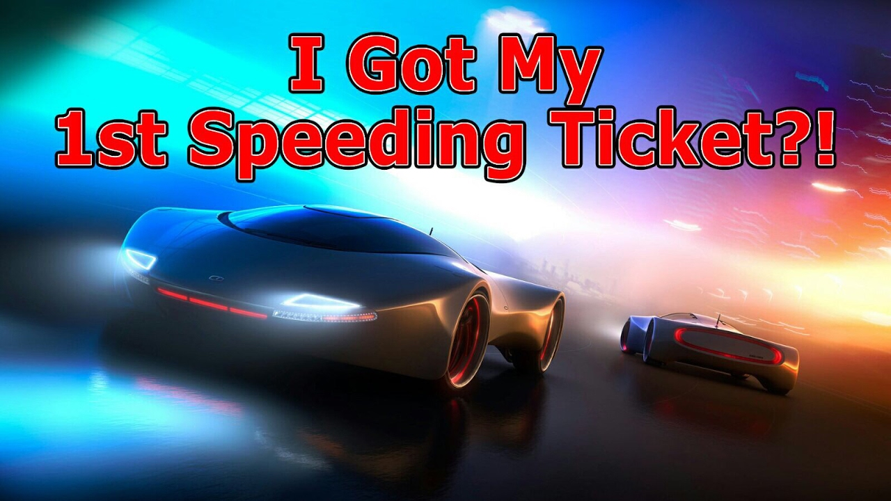 My First What Ticket Got Speeding Now participator giving his