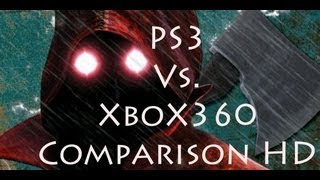 Deadly Premonition 360 vs ps3 comparison HD