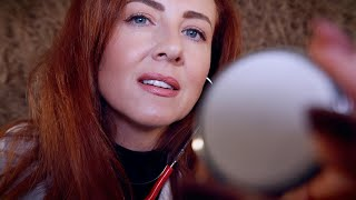 ASMR Medical Exam 💤 Whisper 💤Ear Cleaning & Auriculotherapy