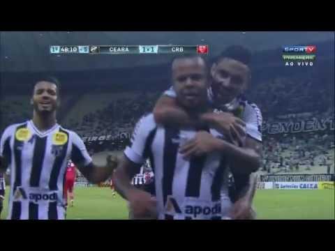 Ceará 1 x 1 CRB   Gols de Zé Carlos e Biil - Série B 2016