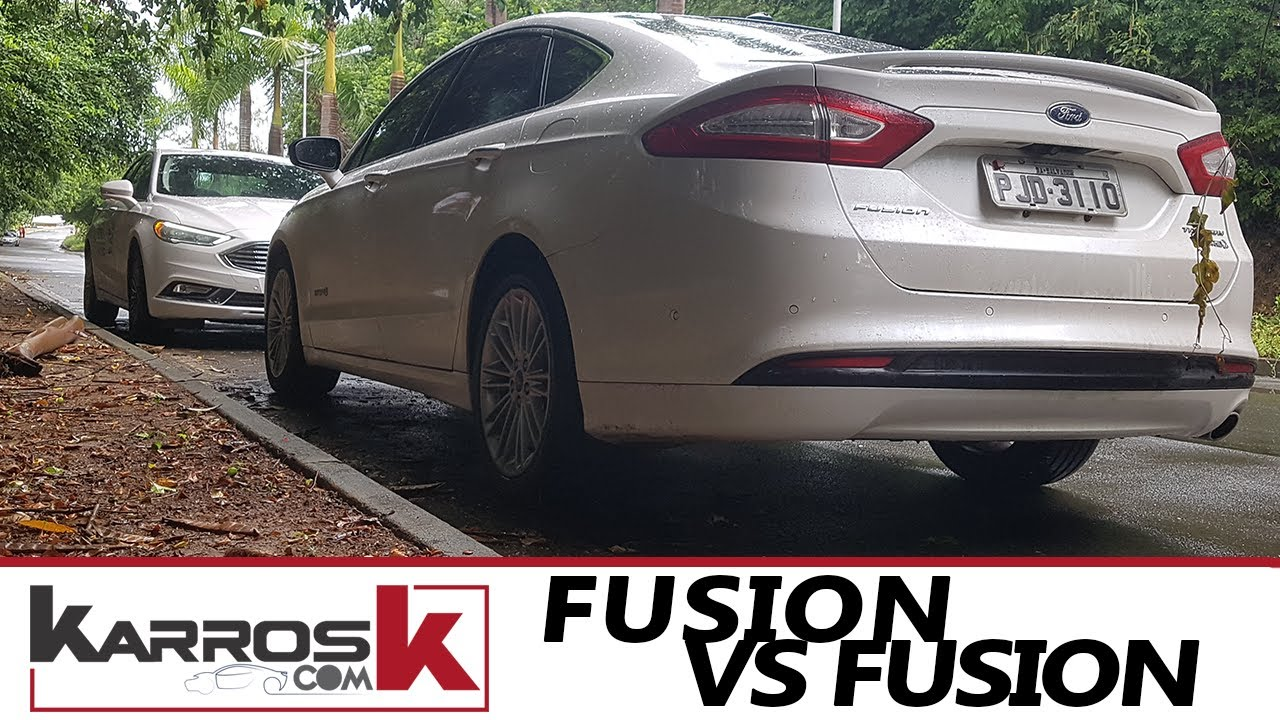 Ford Fusion Hybrid Vs Ecoboost Facelift