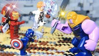 Lego Endgame Final Scene: Avengers vs Thanos