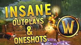 INSANE OUTPLAYS AND ONE SHOTS!  WoW Classic Highlights #45