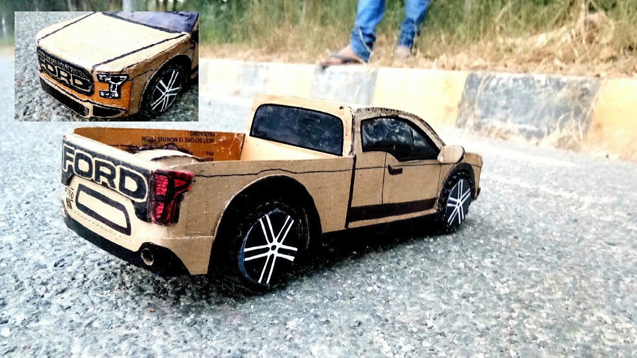 how to make a car ford truck f150 amazing diy rc truck how to make a cardboard mini truck. Black Bedroom Furniture Sets. Home Design Ideas