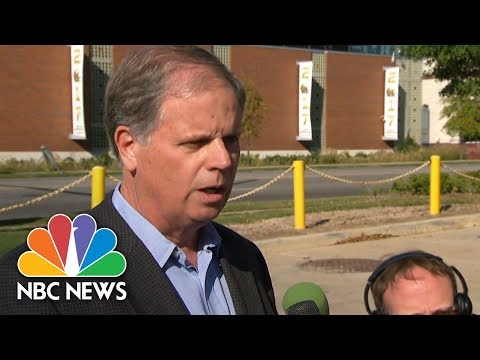 Doug Jones On Opponent Roy Moore: He Is 'Not Qualified To Be A United States Senator' | NBC News