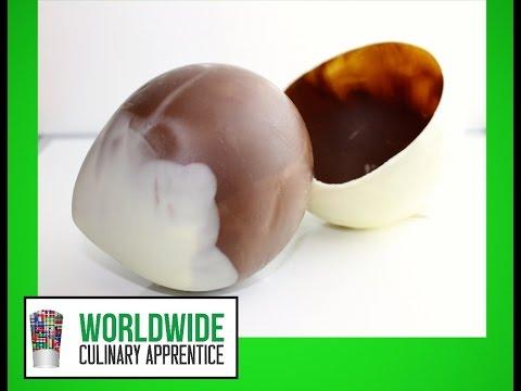 Chocolate Globe - Chocolate Ball - Chocolate Egg - Hollow Choco Sphere