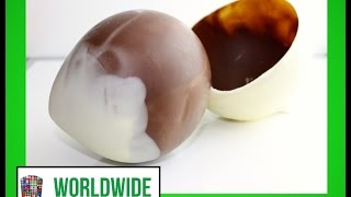 Chocolate Globe - Chocolate Ball - Chocolate Egg - Hollow Choco Sphere