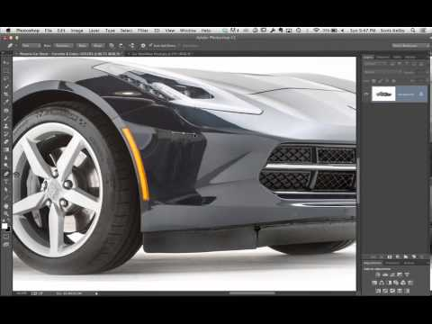 Retouching Cars In Photoshop Youtube