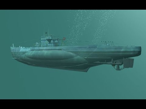 U-Boot Submarine Sonar Sound Effect - German U-Boot Sonar Sound