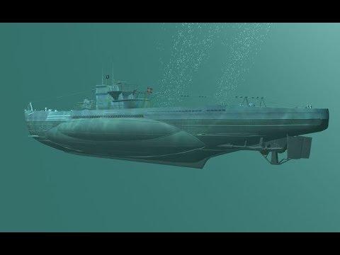 U-Boot Submarine Sonar Sound Effect - German U-Boot Sonar Sound