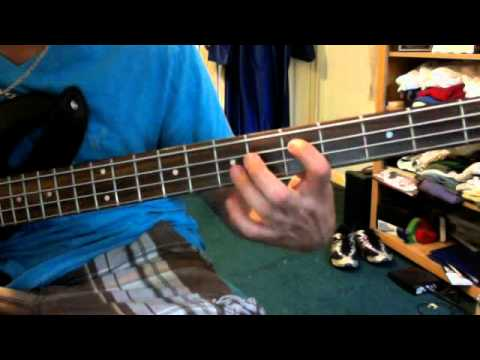 How To Play Sweet Child O' Mine On Bass: Part 1