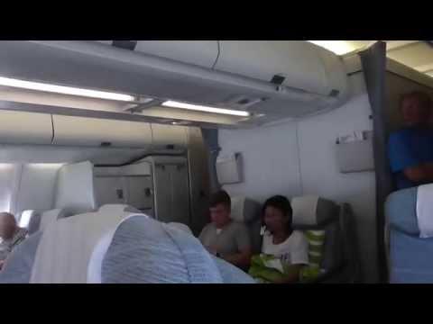 Finnair flight Helsinki-Bangkok