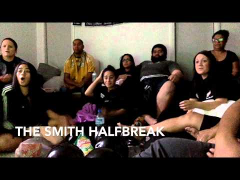 Rugby World Cup 2015 reaction video  Ah Mu Family